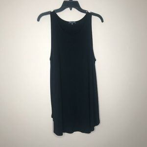 Eileen Fisher Black Long Flowy Tank Top